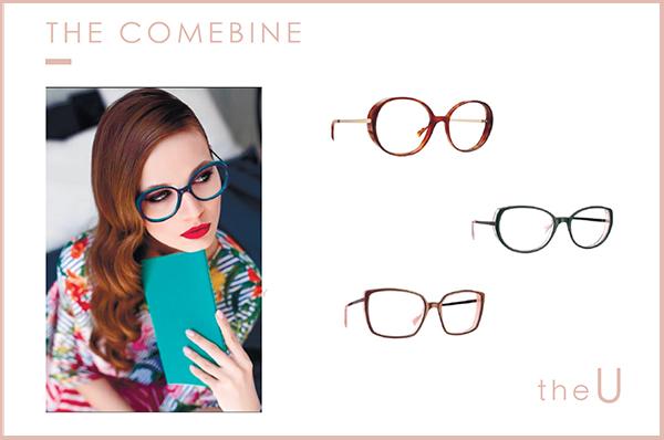 Caroline Abram 女性眼鏡 法國 女用眼鏡 深度數 重度近視 Ulia Ulrika Uma Umberta Ursula Ute Utenzi 必久戴眼鏡
