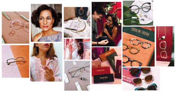 """現代社會對於女性的看法,往往認為女性戴眼鏡是「保守的」、「無趣的」,就連許多需要面對消費者的公司行號來說,也有著明確規定""""上班時間必須戴隱形眼鏡"""",設計師卡羅琳想要翻轉世人印象,向大家證明,戴眼鏡的女性也可以得體優雅、風情萬種。   """"CAROLINE ABRAM'S COLLECTIONS ARE INTENDED FOR ALL THE WOMEN WHO WANT TO FEEEL BEAUTIFUL,SENSUAL,OR JUST THEMSELVES""""卡羅琳眼鏡系列專為想讓自己感到美麗、感性的人所設計,又或是,妳純粹想成為「妳自己"""